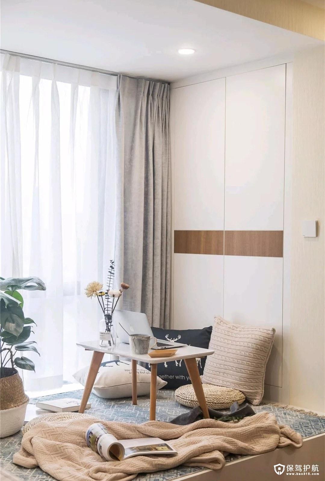 54平的北欧风小户型公寓装修效果图