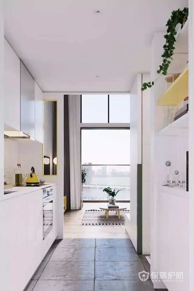 35平loft小公寓裝修效果圖-保駕護航裝修網