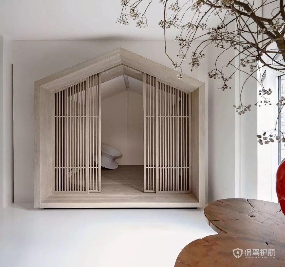 日式储物间小房间装修效果图