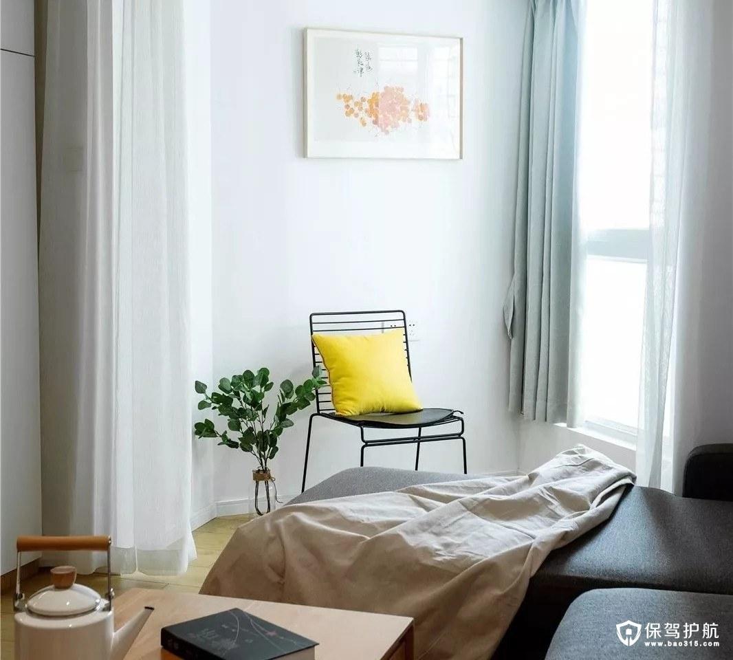 极其舒适北欧风格三居室装修效果图