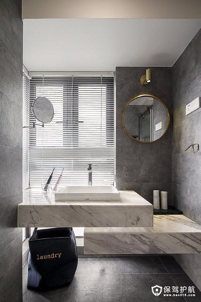100㎡北欧三居,大量使用黑白灰三色,打造出不一样的高级感