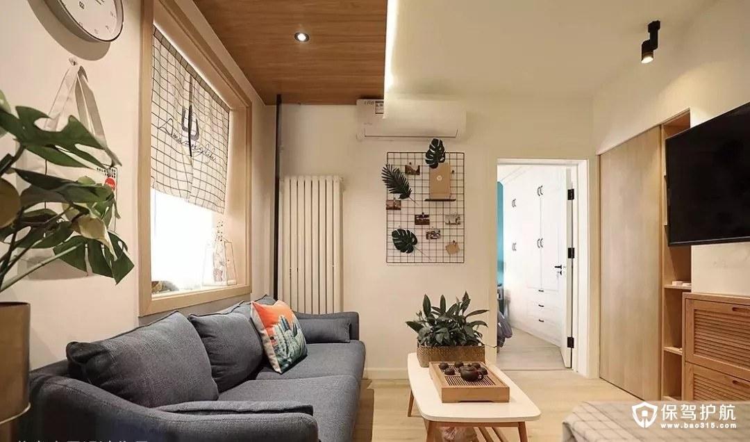 打造混搭风的二居室小户型装修效果图