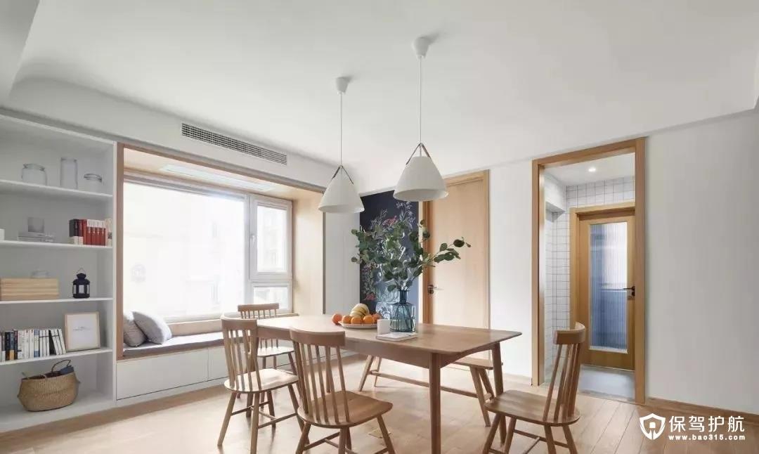 106平的简约风二居室装修效果图