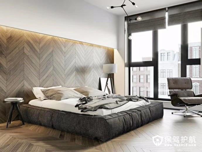 108平现代简约风格三居室装修效果图…
