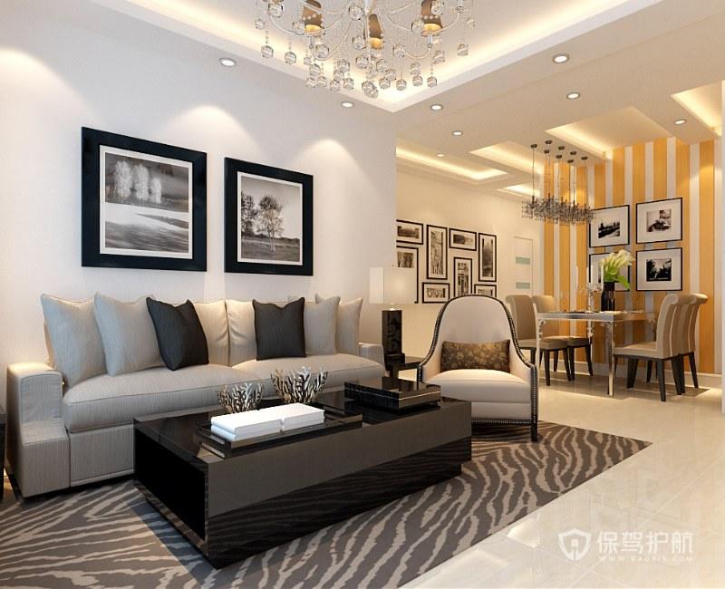 客厅多大面积比较合适?客厅怎么装修好看?