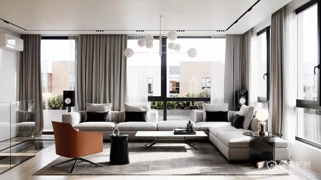 复式客厅会客厅装修效果图