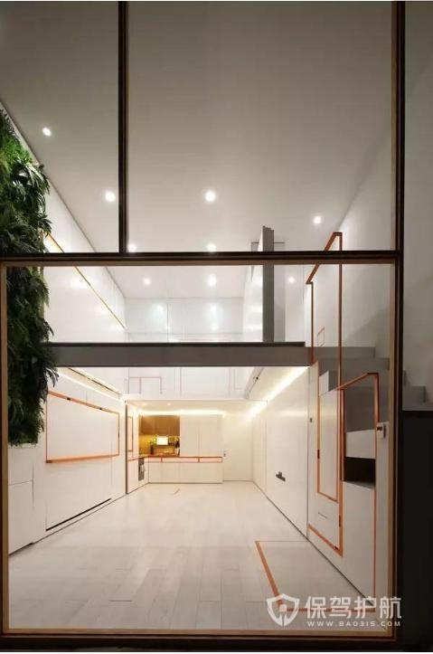 40平房子改造后竟然看不见家具?秘密就在家里的柜子