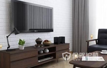 客厅电视背景墙怎么装修?客厅电视背景墙装修注意事项
