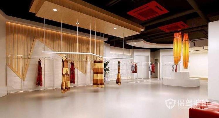 美式新古典高级服装店装修效果图