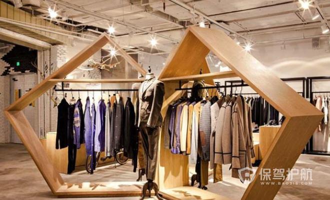 米兰时尚创意服装店装修效果图