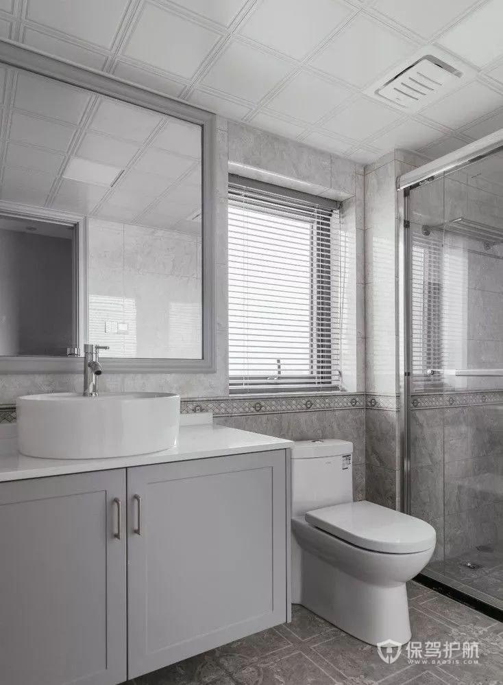 卫生间卫浴洁具装修效果图