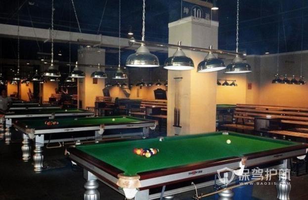 台球室吊顶装修效果图-保驾护航