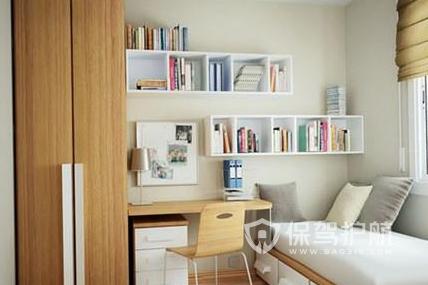 小书房怎样装饰设计?5㎡小书房装修效果图