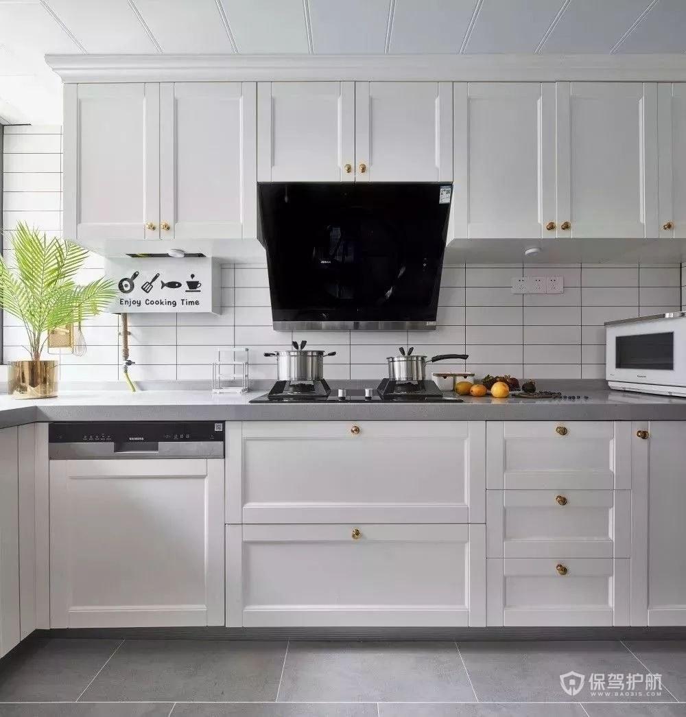 时尚厨房橱柜装修效果图