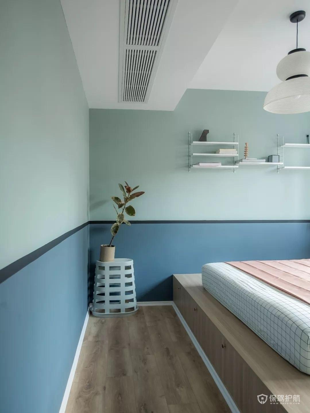 卧室榻榻米装潢装饰效果图