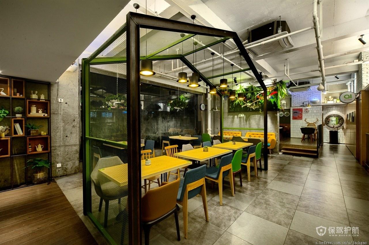 快餐厅墙面装修方式有哪些?快餐厅墙面装修效果图