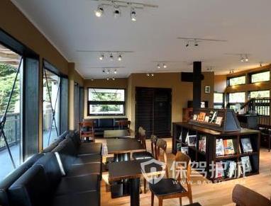 书吧咖啡厅设计要点 书吧咖啡厅装修效果图
