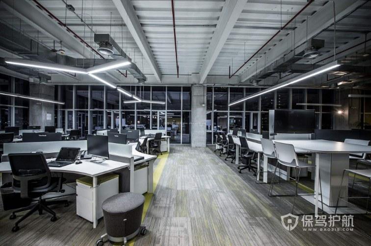 工廠改造辦公區裝修效果圖