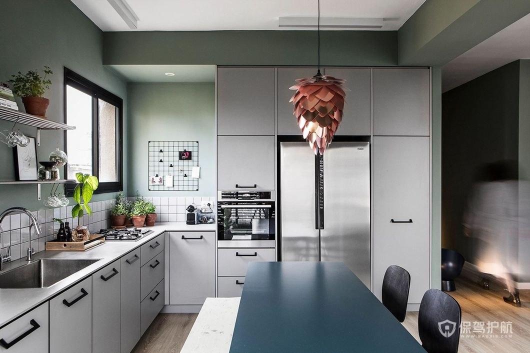 開放式廚房裝修效果圖