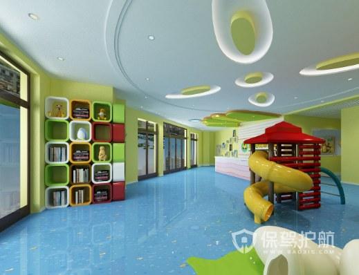 現代簡約幼兒園創意裝修效果圖