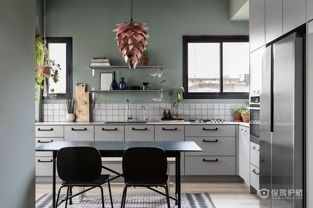 美觀大方廚房櫥柜設計效果圖