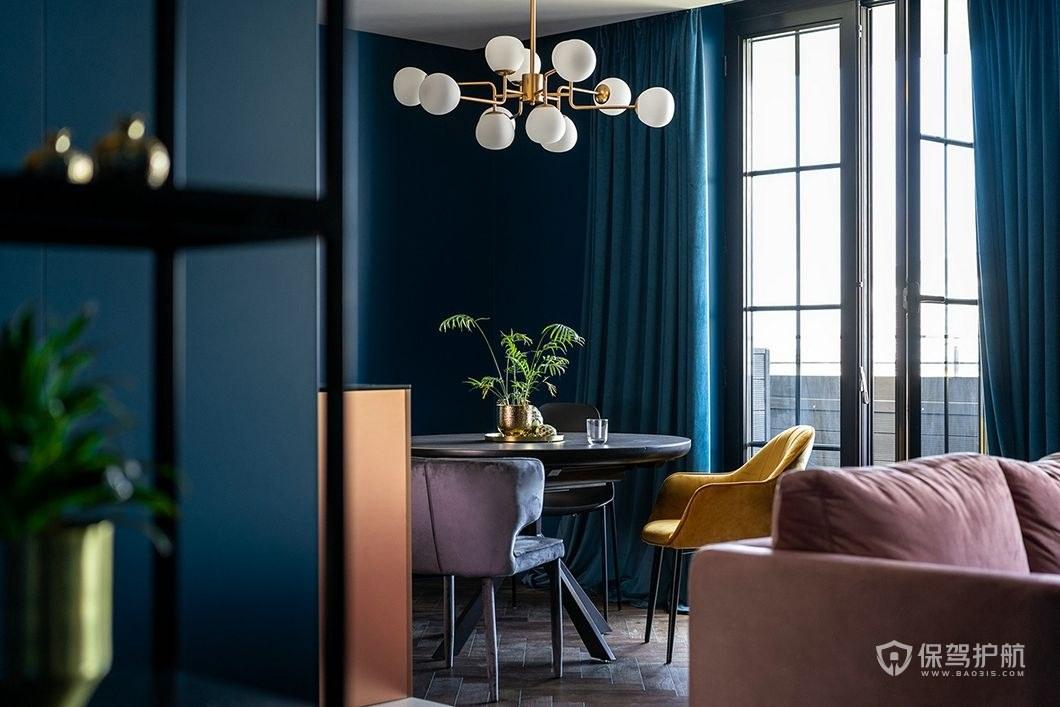 客厅装修桌椅摆设效果图