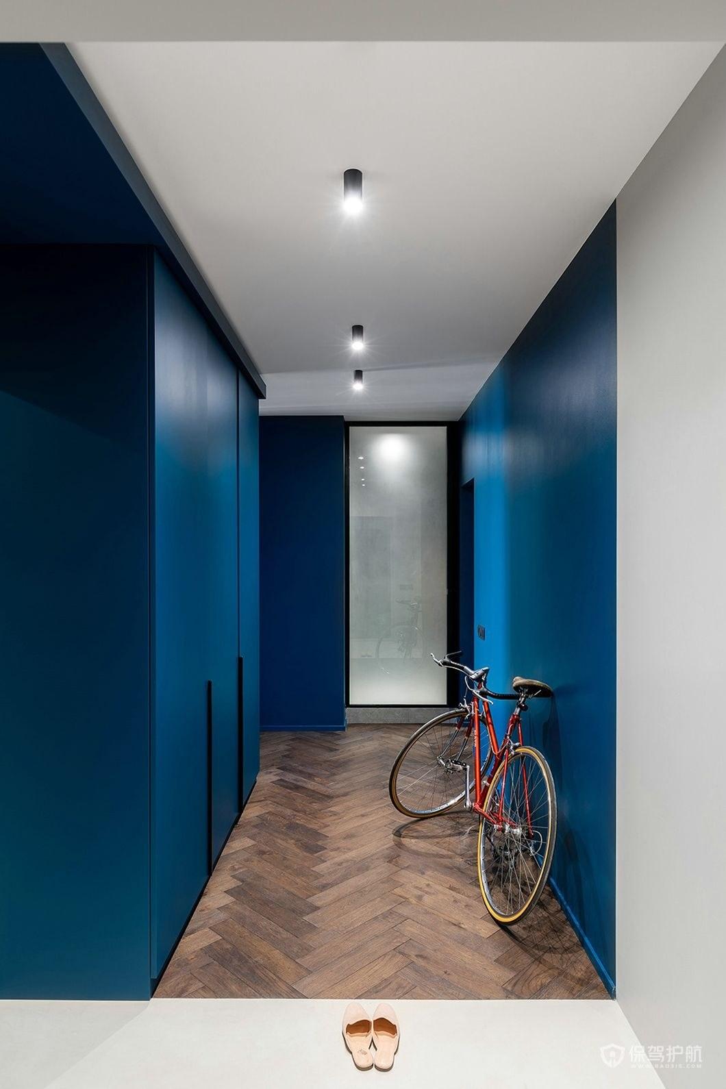 地中海风格玄关走廊装修效果图