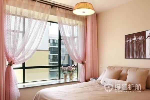 卧室窗帘装饰效果图-保驾护航装修网