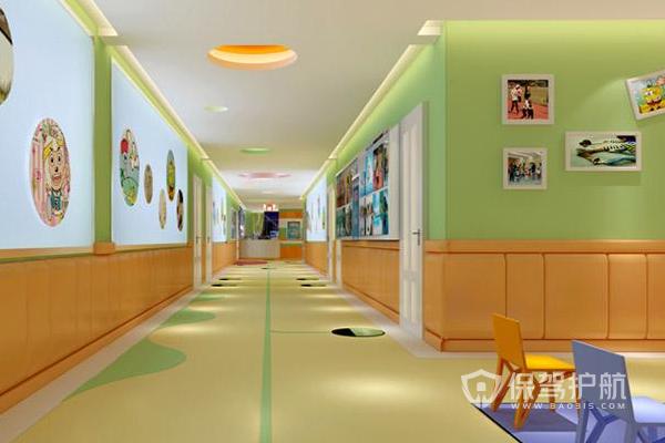 幼儿园设计效果图-保驾护航装修网