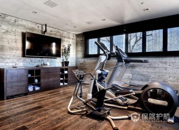 20平米私人健身房裝修有什么注意點?20平米健身房效果圖
