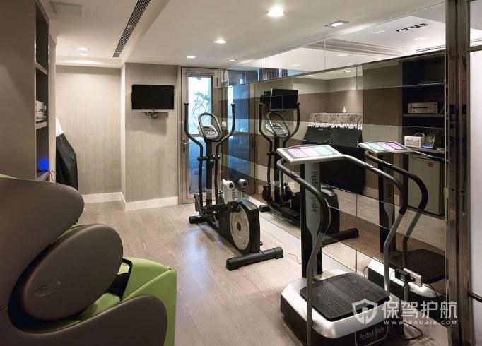 20平米健身房效果图-保驾护航