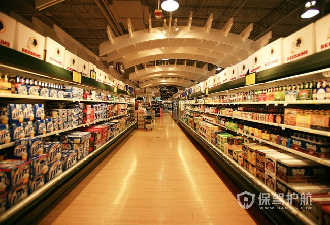 大型超市装修有什么技巧?大型超市装修效果图