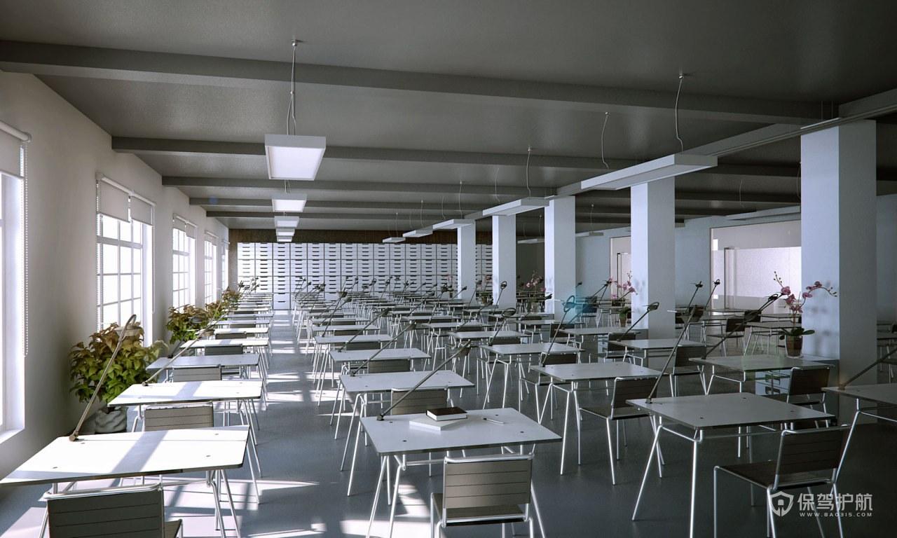 教室装修效果图-保驾护航装修网