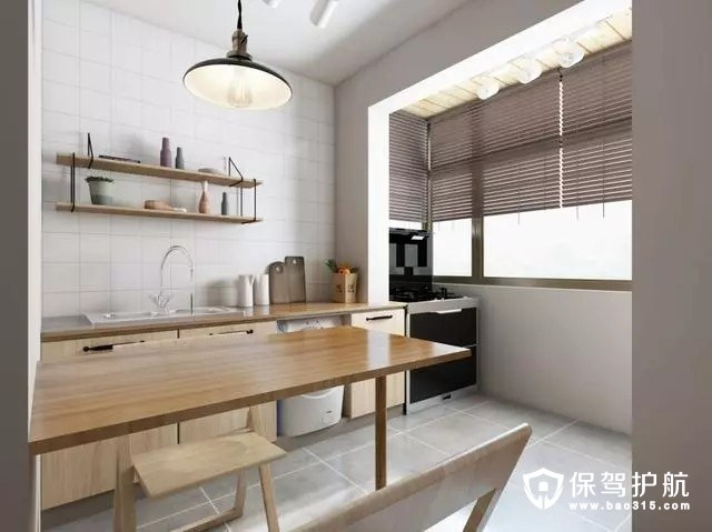 小户型两室的简约风格创意设计装修效果图