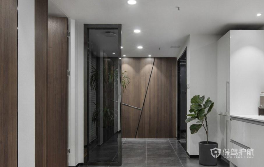 轻奢风格办公室卫生间装修效果图