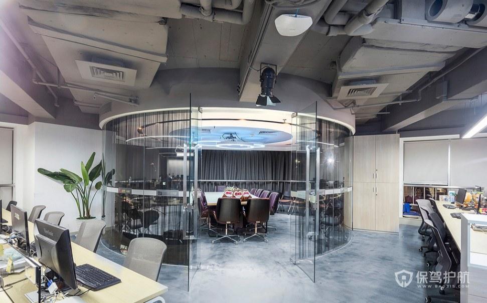工业混搭风办公室装修效果图