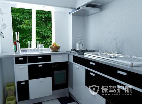 新中式风格厨房怎样设计?5平米新中式厨房装修效果图