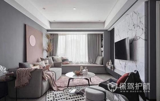 70平米裝修適合什么風格?70平米兩室一廳現代簡約裝修案例