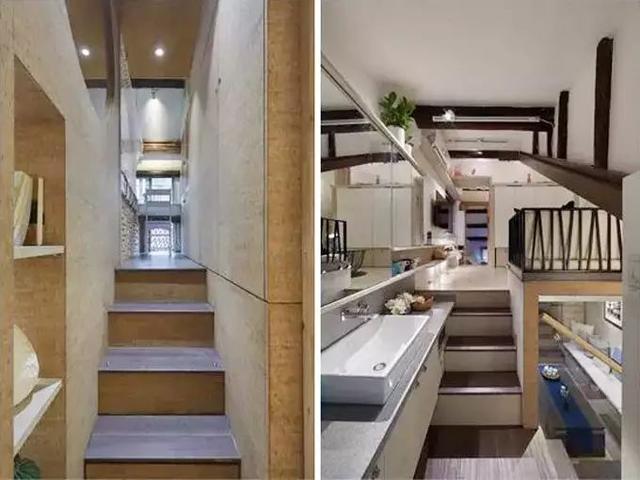 四代人擠38㎡百年老宅,廚房也做廁所用,設計師裝修爆改變6房!