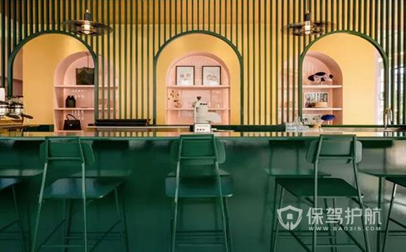 創意咖啡店怎樣設計好?110平米創意咖啡店裝修效果圖