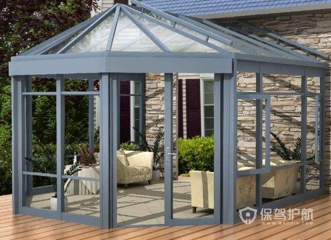 40平米玻璃房造价图片 不同档次的玻璃房有什么区别?