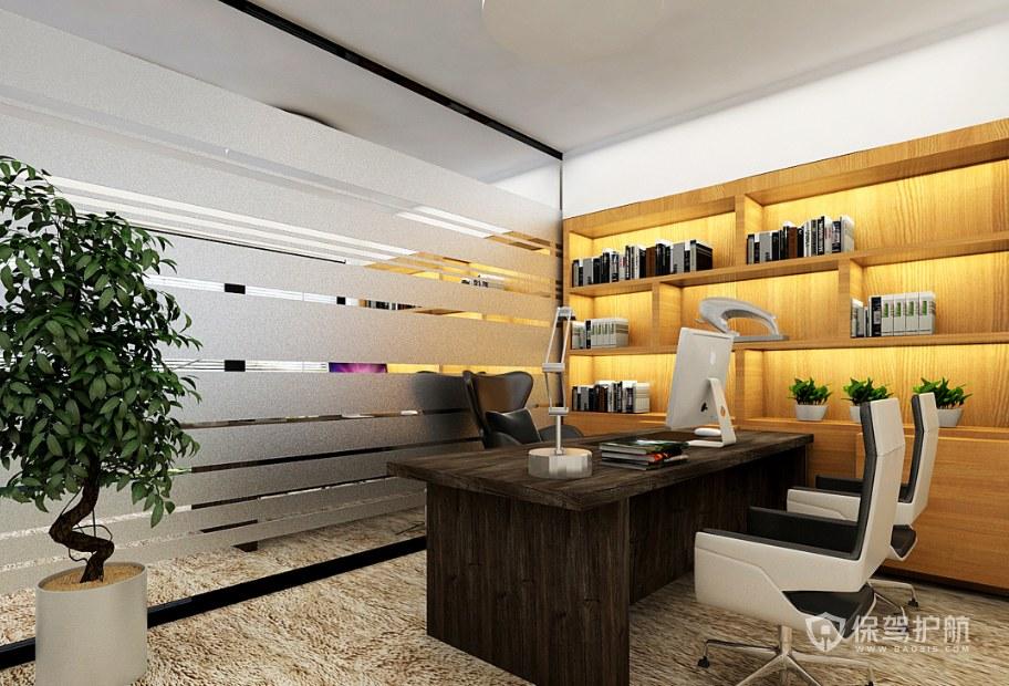 现代风格经理办公室装修效果图