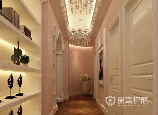 豪华欧式风格美容院走廊装修效果图