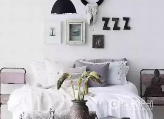 9平米北欧风格卧室装修效果图