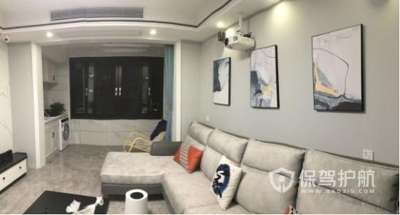 100平三室两厅装修效果图-保驾护航装修网