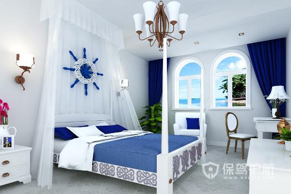 地中海卧室装修效果图-保驾护航装修网