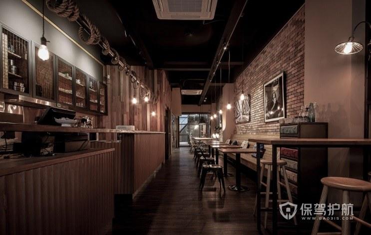 意大利复古典雅风咖啡厅装修效果图