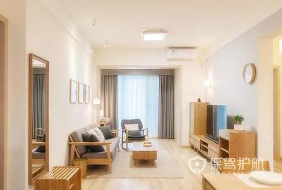 两室一厅如何装修日式风格?80平米两室一厅日式装修案例