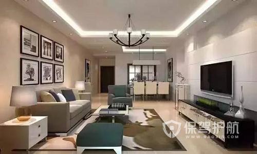 客厅什么装修风格受欢迎?复合楼客厅装修效果图