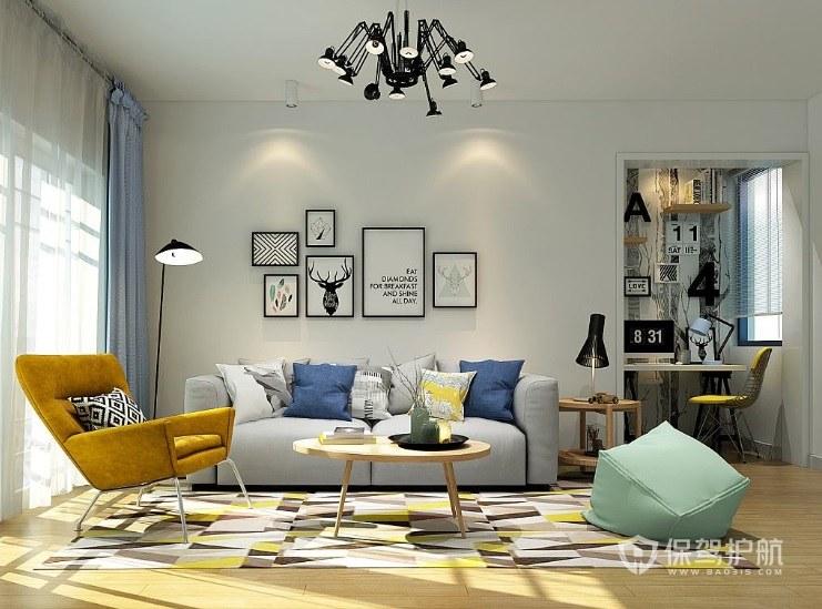 沙发背景墙造型欣赏 沙发背景墙的颜色怎么决定?
